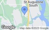 Map of St. Augustine, FL