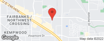 Map of 5700 NW Central Dr in Houston