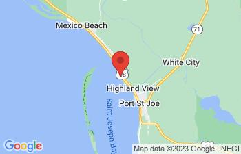 Map of Port St Joe