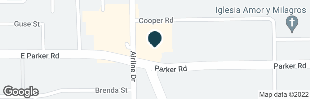 Google Map of6600 AIRLINE DR