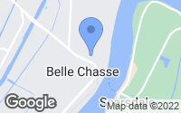 Map of Belle Chasse, LA