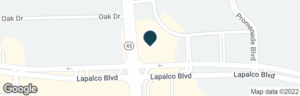 Google Map of1891 BARATARIA BLVD