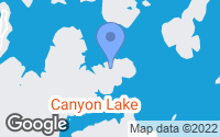 Map of Canyon Lake, TX
