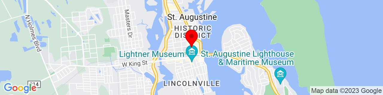 Google Map of 29.8945213, -81.3137502