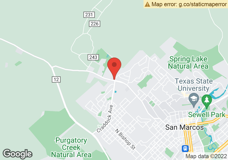 Google Map of 1700 OLD RANCH ROAD 12