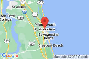 Map of St Augustine Area