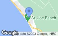 Map of Port St. Joe, FL