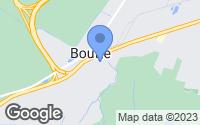 Map of Boutte, LA