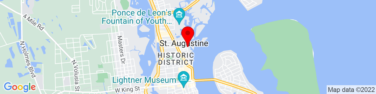 Google Map of 29.9012437, -81.31243409999999