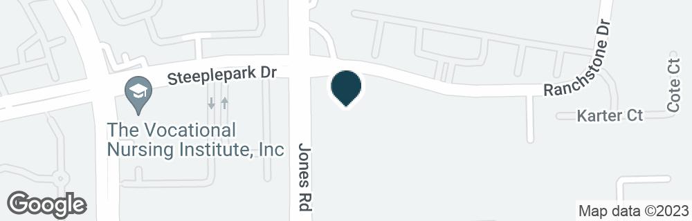 Google Map of8910 JONES RD