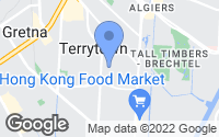 Map of Terrytown, LA