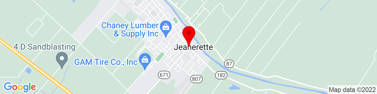 Google Map of 29.91111111111111, -91.66333333333334