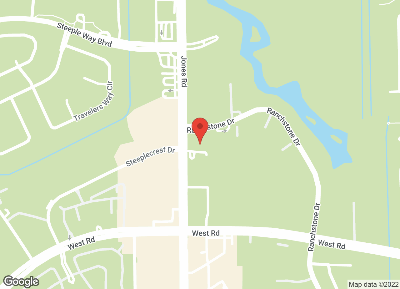 Google Map of VCA Jones Road Animal Hospital