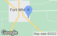 Map of Fort White, FL