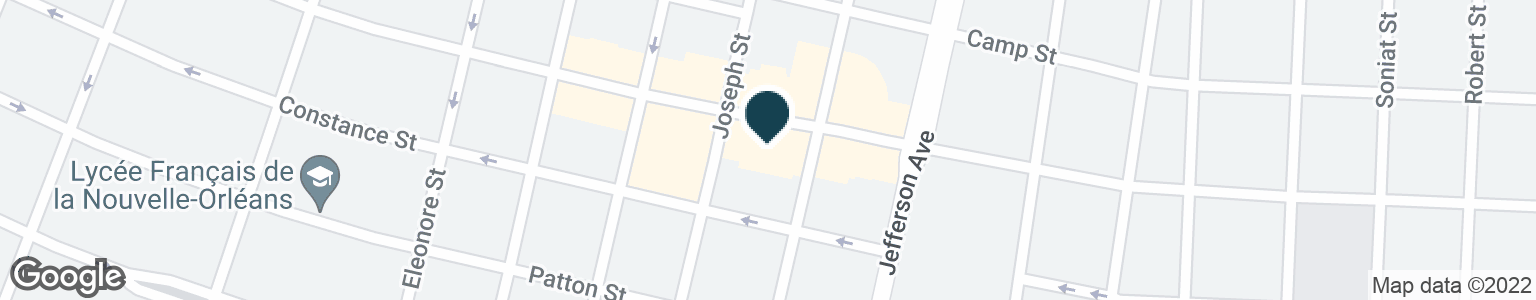 Google Map of5518 MAGAZINE ST