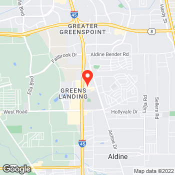 Map of Pizza in Houston, TX – Cicis Pizza at 10822 North Fwy, Houston, TX 77037