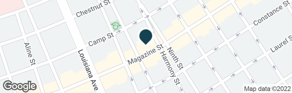 Google Map of3227 MAGAZINE ST