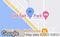 Map of Mexico Beach, FL