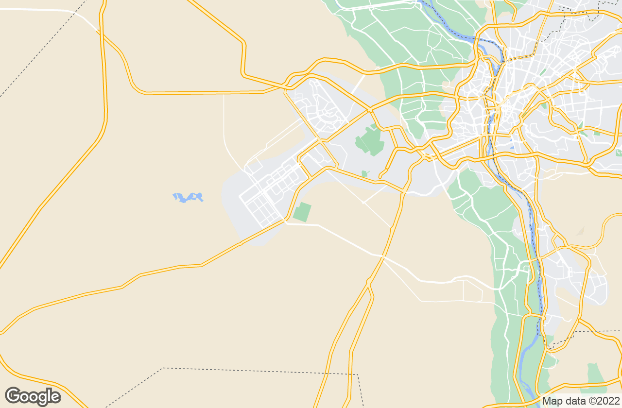 Google Map of 6th of October City