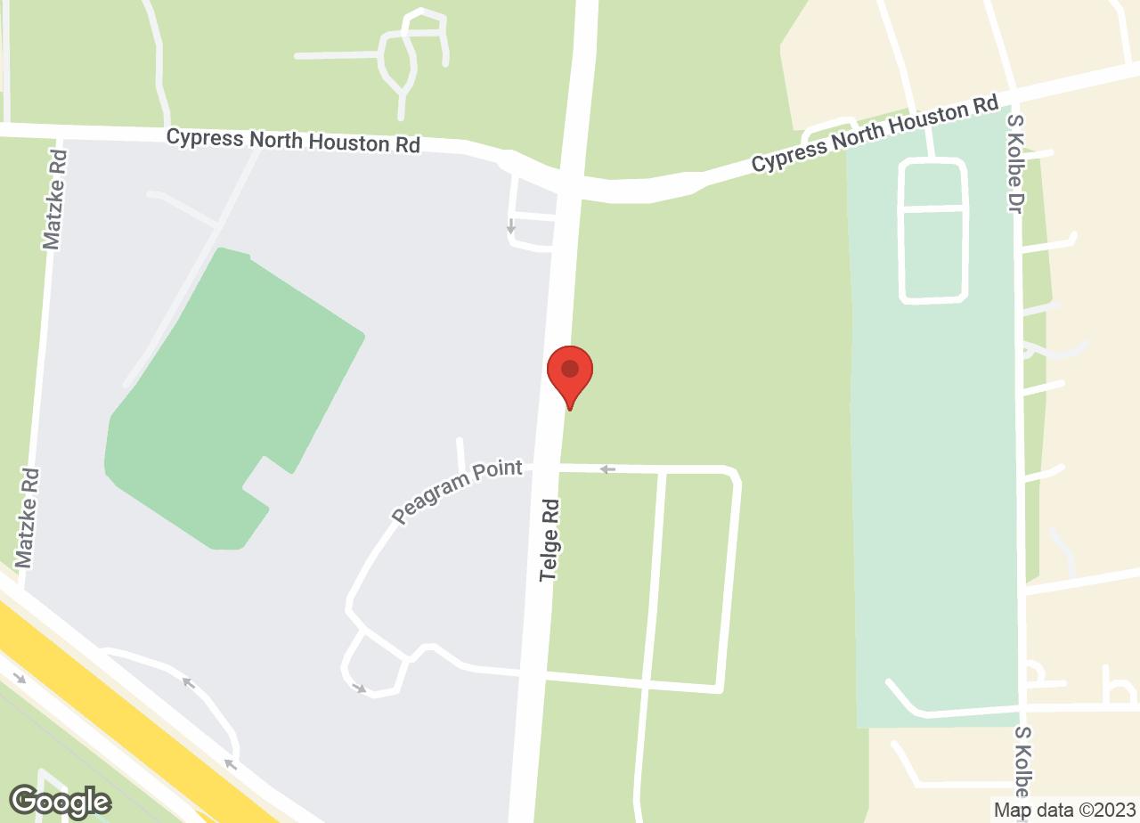 Google Map of VCA Telge Road Animal Hospital