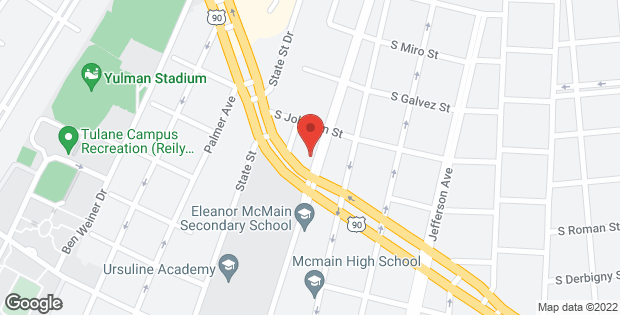 5801 S CLAIBORNE Avenue New Orleans LA 70125
