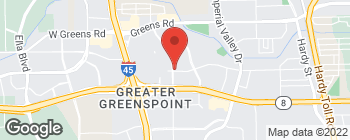 Map of 12110 Greenspoint Dr in Houston