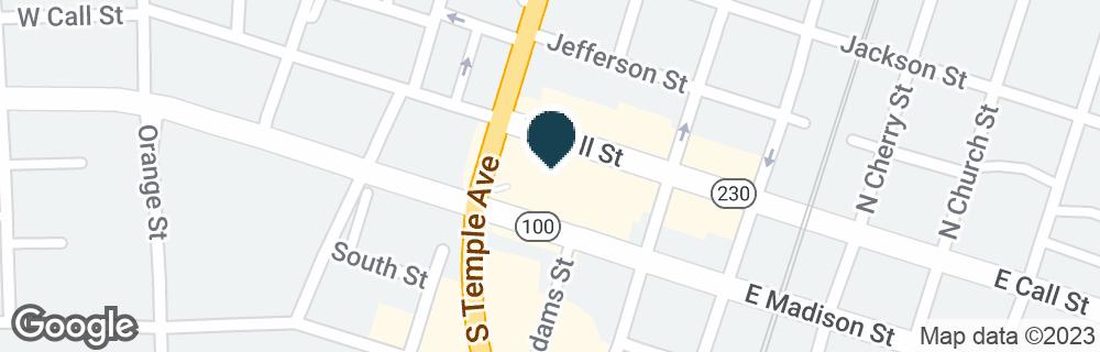 Google Map of205 W MADISON ST
