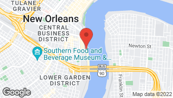 Map of 500 Port of New Orleans Pl in New Orleans