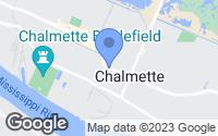 Map of Chalmette, LA