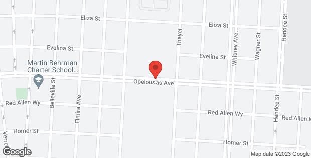1200 OPELOUSAS Avenue New Orleans LA 70114