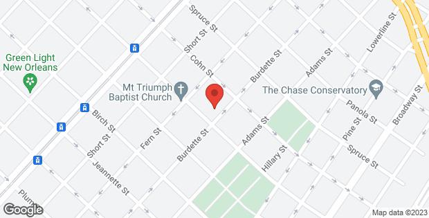 1812 BURDETTE Street New Orleans LA 70118