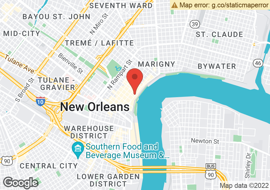 Google Map of 619 DECATUR ST