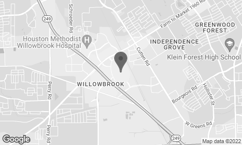 Map of 1234 Willowbrook Mall in Houston