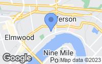 Map of Jefferson, LA