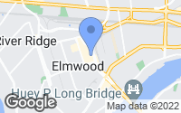 Map of Elmwood, LA