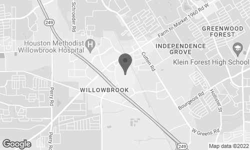 Map of 1408 Willowbrook Mall in Houston