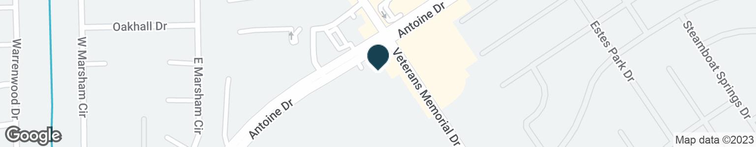 Google Map of12097 VETERANS MEMORIAL DR