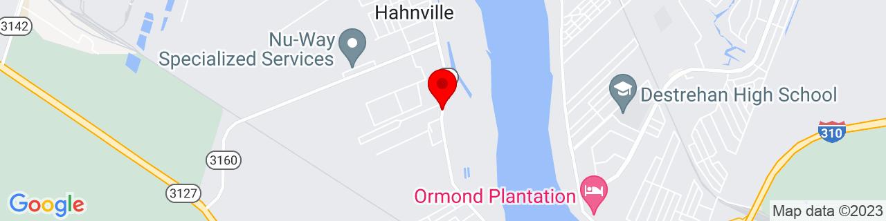 Google Map of 29.9654929, -90.40552819999999