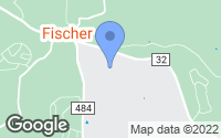 Map of Fischer, TX