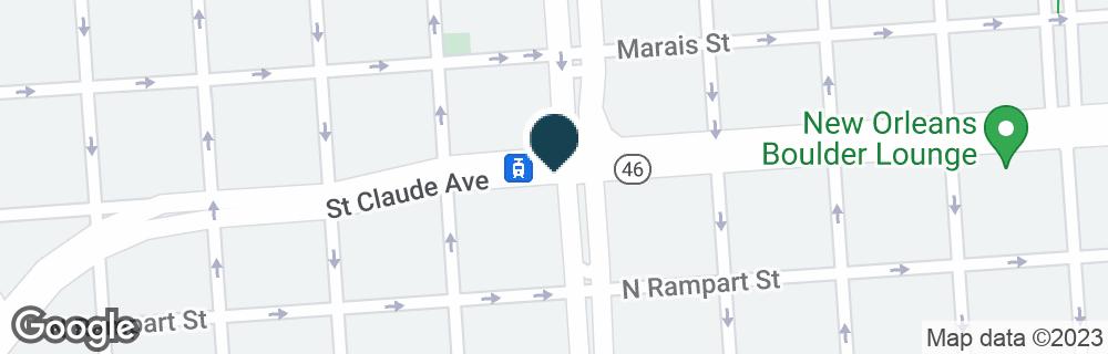 Google Map of1100 ELYSIAN FIELDS AVE