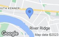 Map of River Ridge, LA