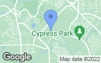 Map of Cypress, TX