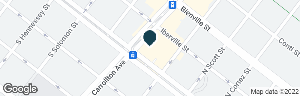 Google Map of4001 CANAL ST