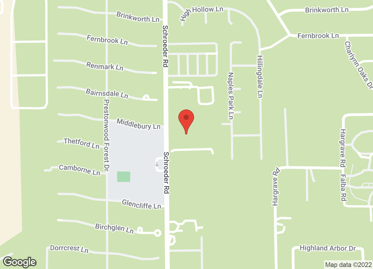 Google Map of VCA Prestonwood Animal Hospital