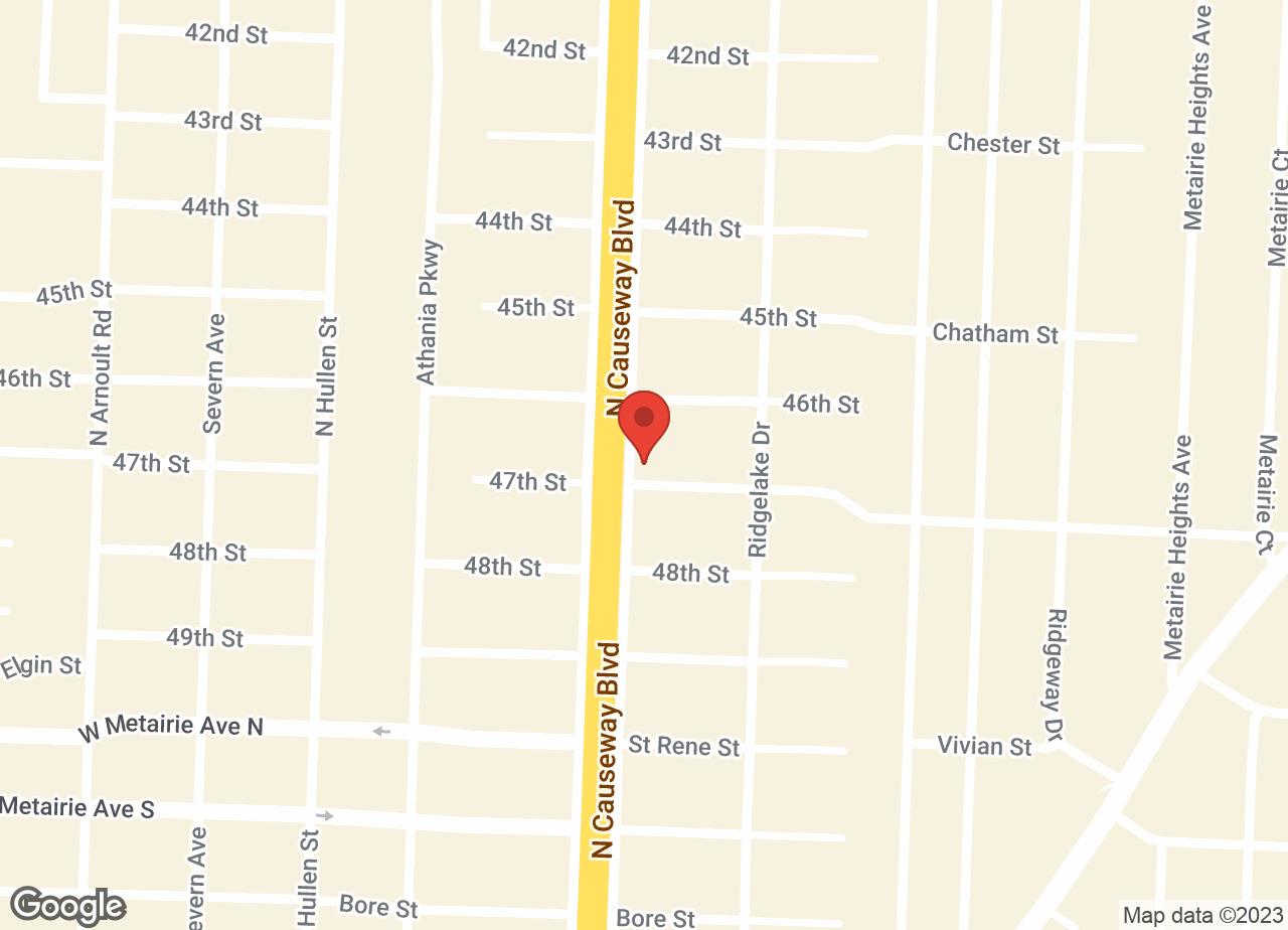Google Map of VCA Causeway Animal Hospital