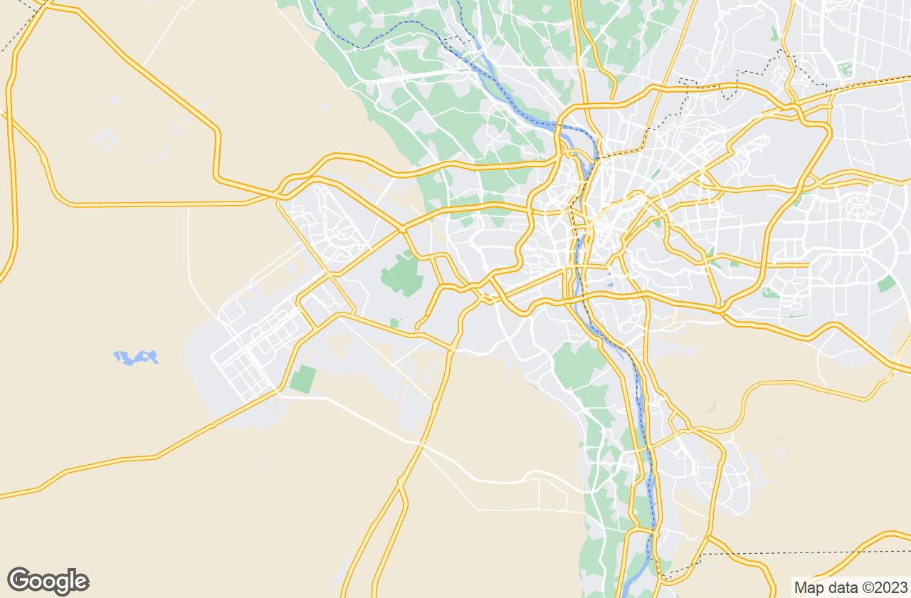 Google Map of Giza
