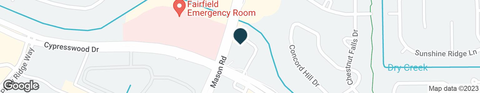 Google Map of15110 MASON RD