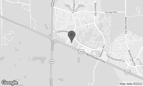 Map of 29300 Hempstead Road in Cypress