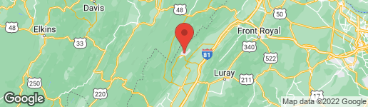 Map of 290 KILLMON ROAD BASYE, VA 22810