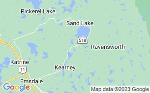 Map of Granite Ridge Wilderness Campground